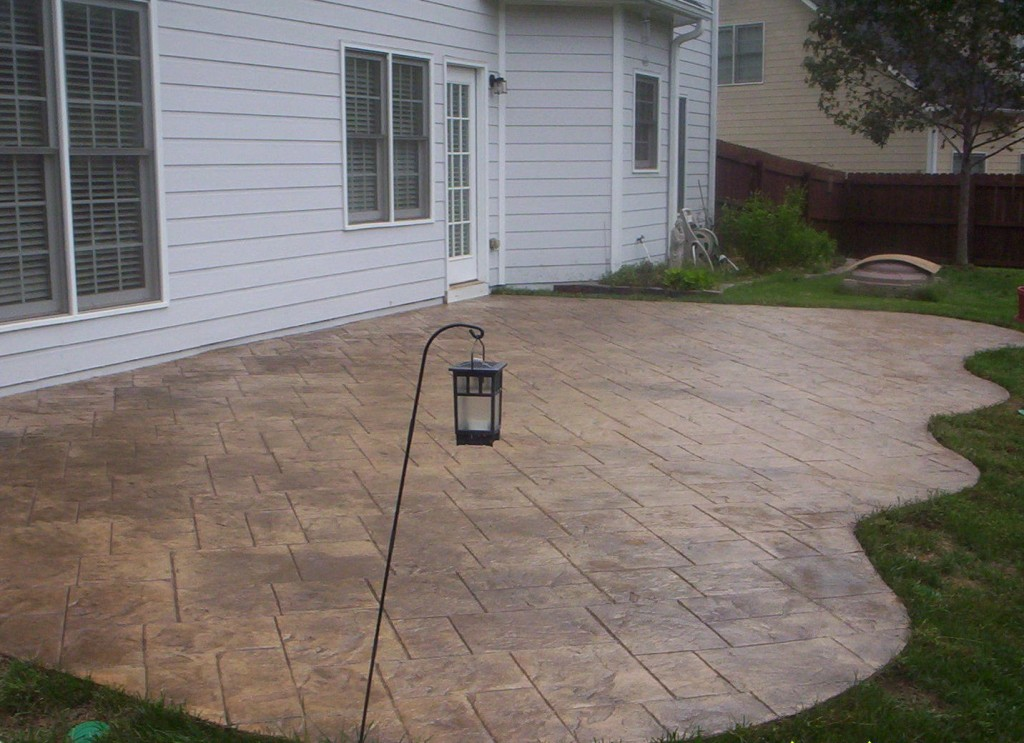 Stamp Patio