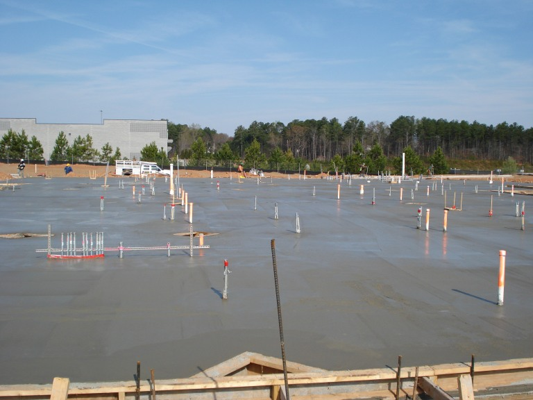 New commercial slab