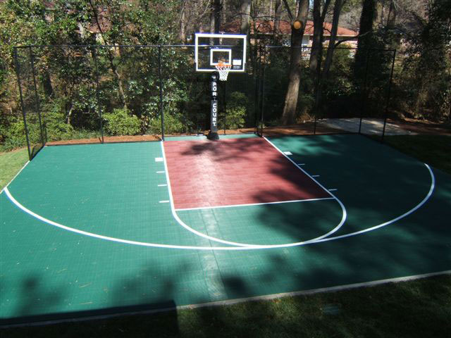 Atlanta Basketball court
